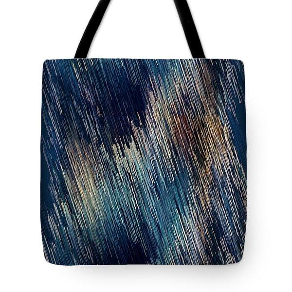 Tote Bag featuring the digital art Below Zero by David Manlove