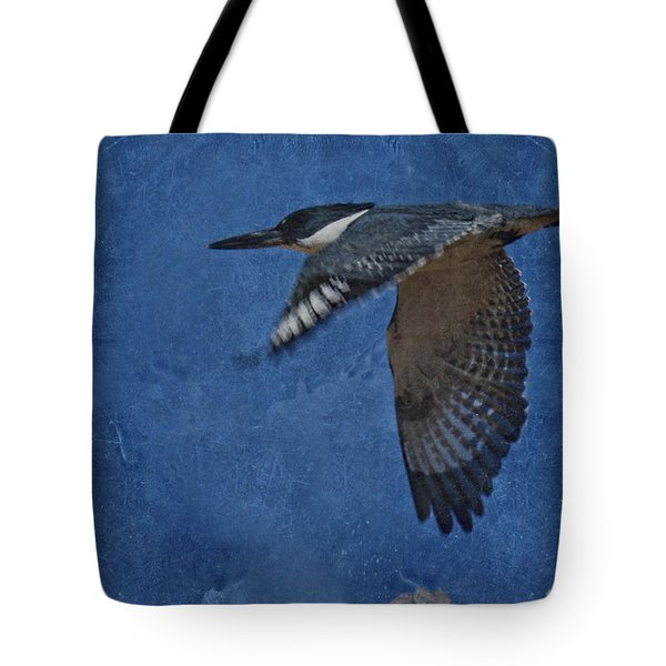 Belted Kingfisher 3 Tote Bag