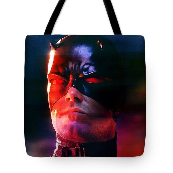 Ben Affleck Daredevil Tote Bag