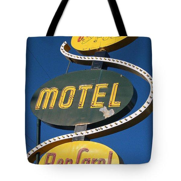 Ben Carroll Motel Tote Bag