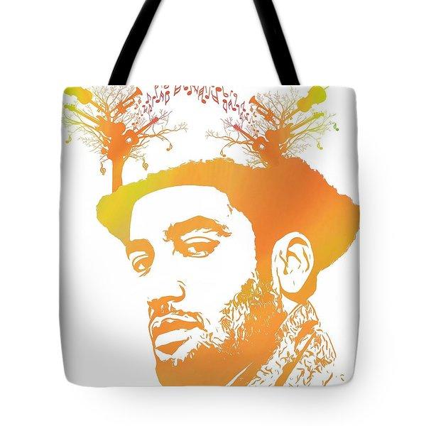 Ben Harper Pop Art Tote Bag