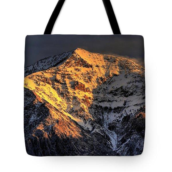Ben Lomond Sunrise Tote Bag