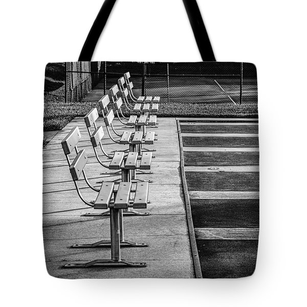 Benches At The Ready Tote Bag