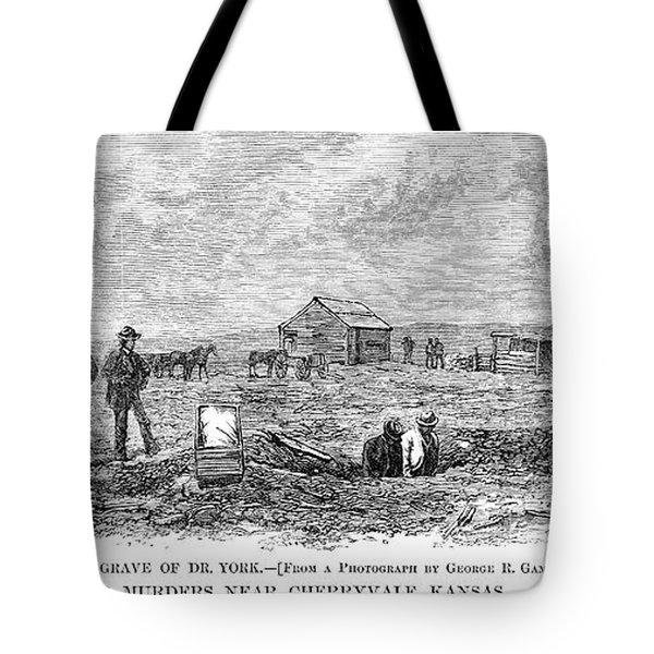 Bender Murders, 1873 Tote Bag
