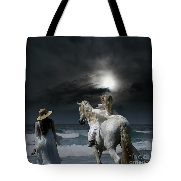 Beneath The Illusion In Colour Tote Bag