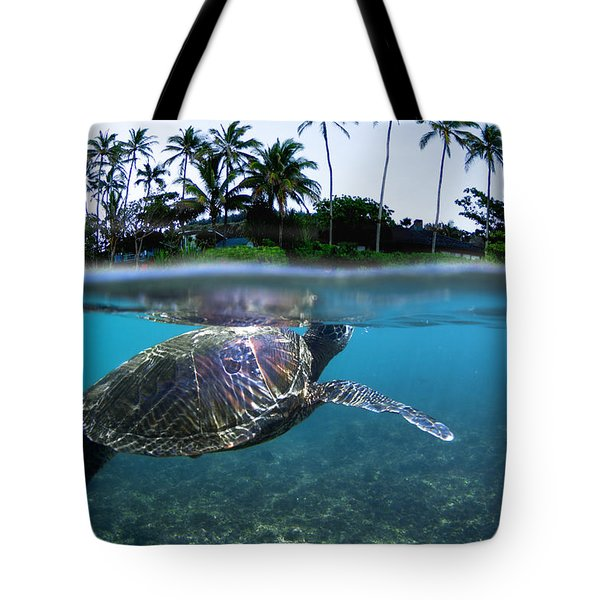 Beneath The Palms Tote Bag