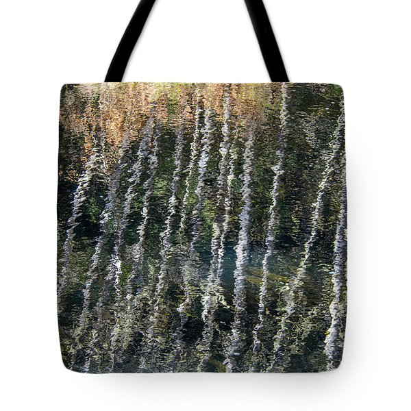 Beneath The Reflection Tote Bag by Roxy Hurtubise