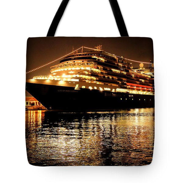 Beneath The Stars Tote Bag by Karen Wiles