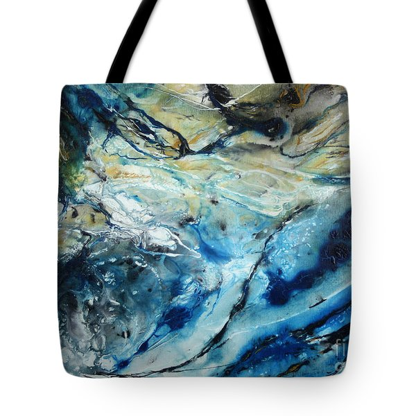 Beneath The Surface Tote Bag by Valerie Travers