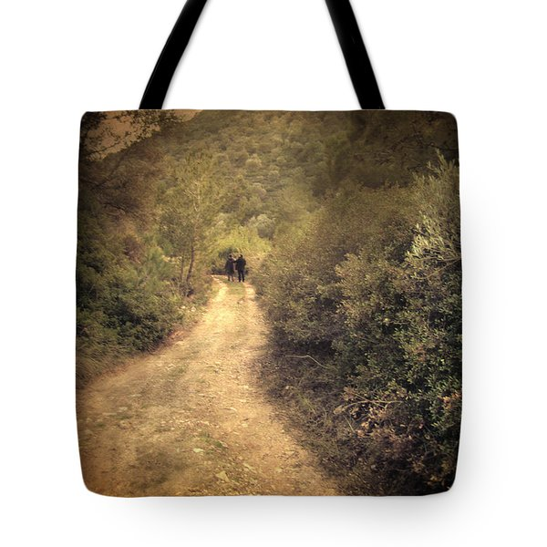 Beneath The Woods Tote Bag by Taylan Apukovska