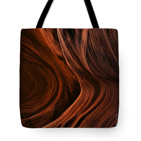 Bent By The Elements Tote Bag by Mike  Dawson