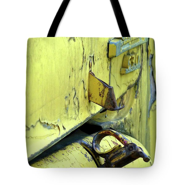 Tote Bag featuring the photograph Bent by Newel Hunter