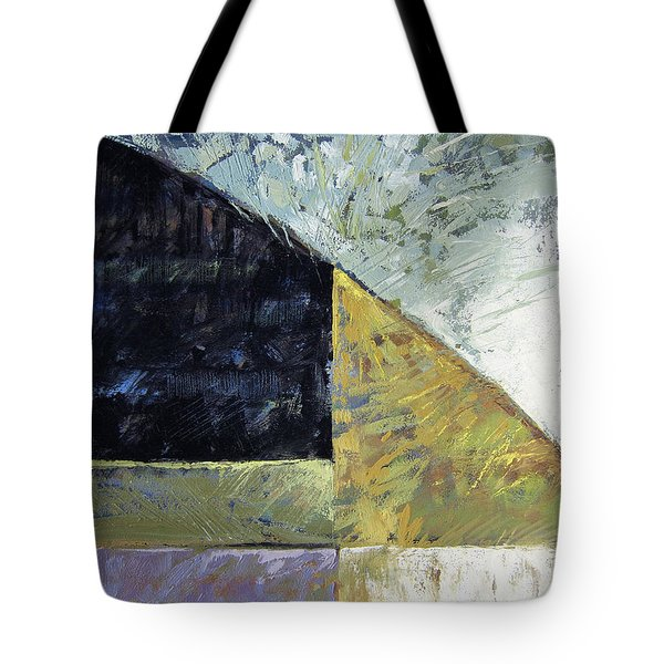 Bent On Abstraction Tote Bag