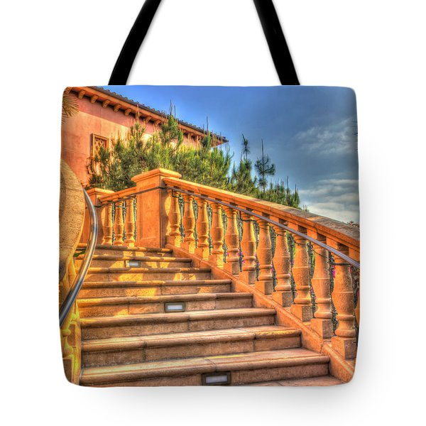 Benvenuto Tote Bag by Heidi Smith