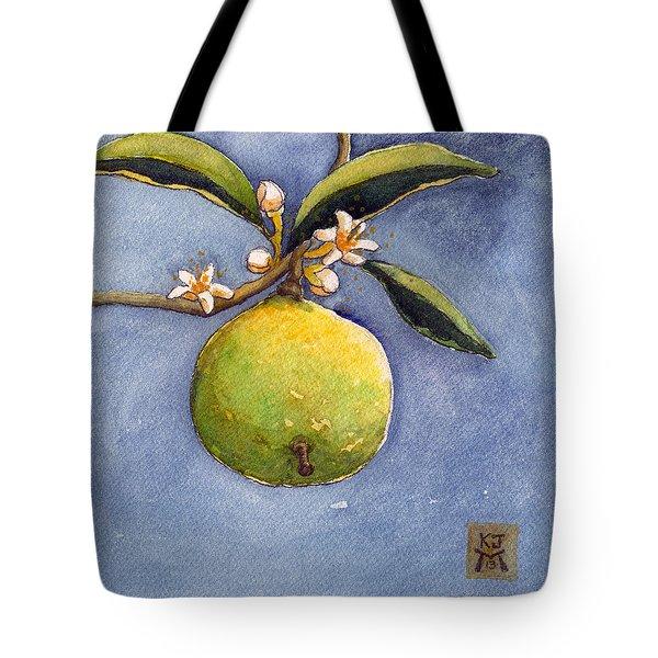 Bergamot Tote Bag by Katherine Miller