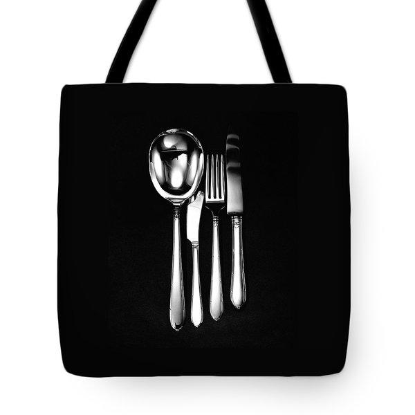 Berkeley Square Silverware Tote Bag