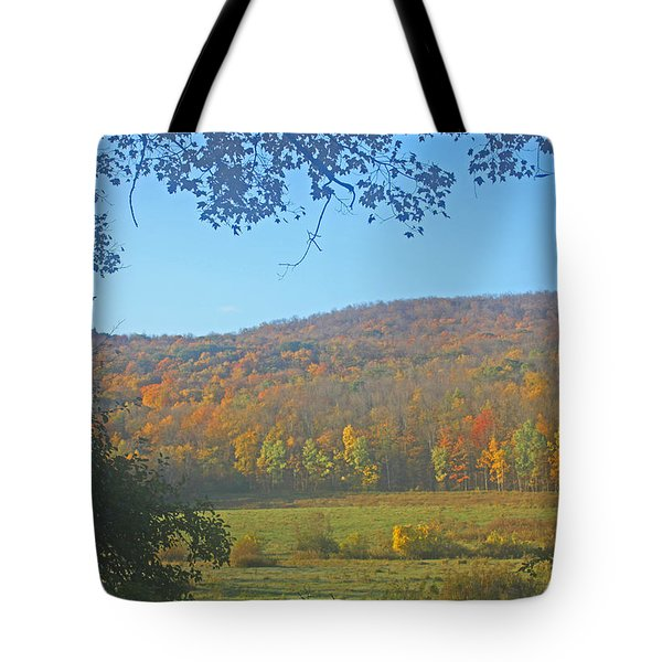 Berkshires Colors  Tote Bag