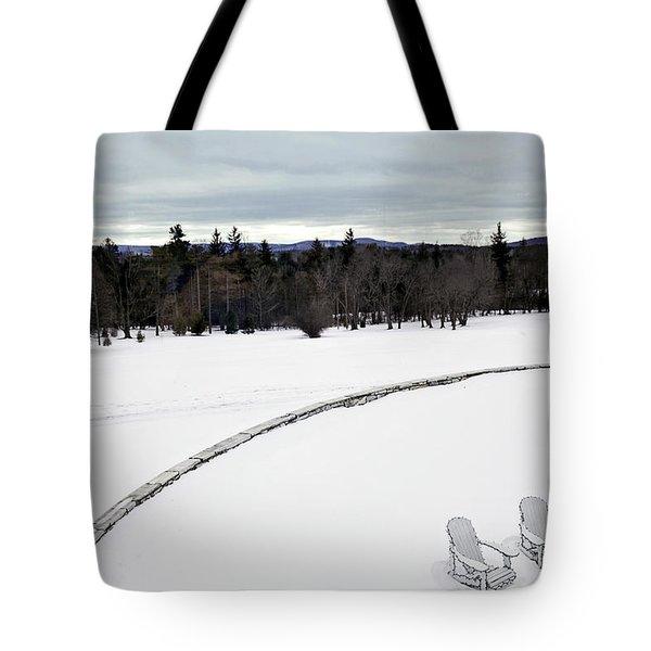 Berkshires Winter 2 - Massachusetts Tote Bag by Madeline Ellis