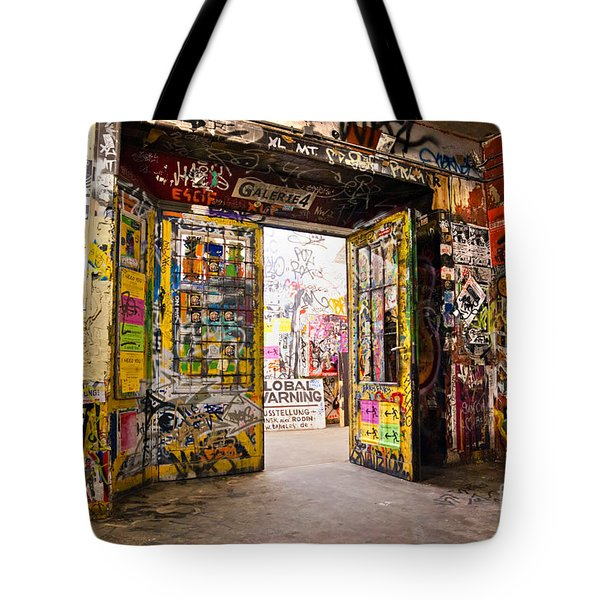 Berlin - The Kunsthaus Tacheles Tote Bag