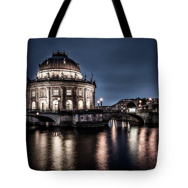 Berlin - Bode-museum Tote Bag by Hannes Cmarits