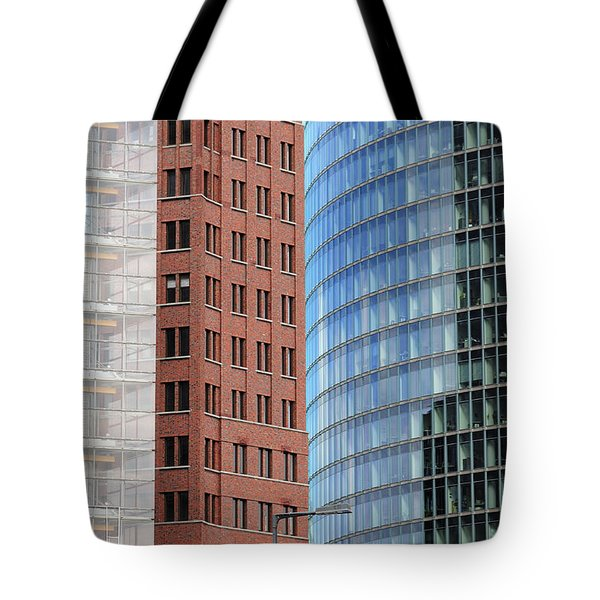Berlin Buildings Detail Tote Bag