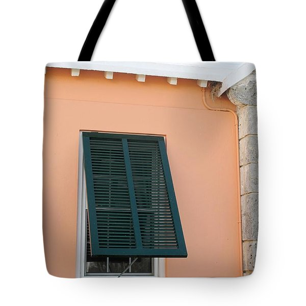 Bermuda Shutters Tote Bag