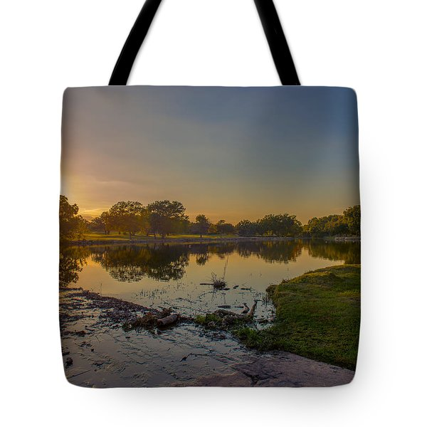 Berry Creek Sun Set Tote Bag