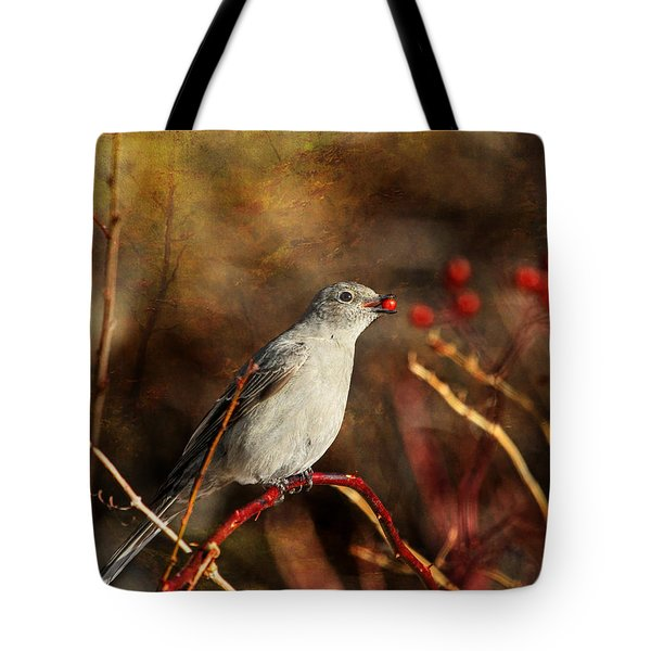 Berry Delighted Tote Bag by Donna Kennedy