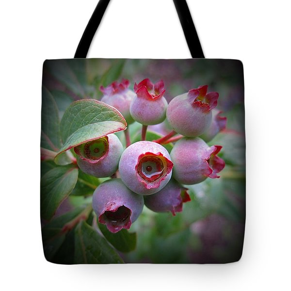 Berry Unripe Tote Bag