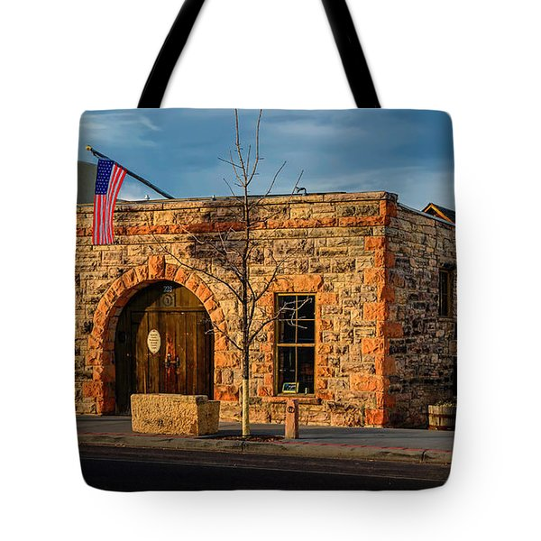 Berthoud Museum Tote Bag by Jon Burch Photography