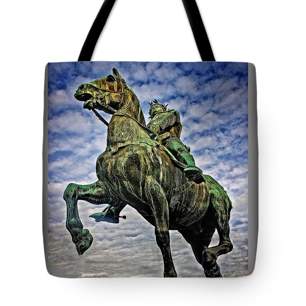 Tote Bag featuring the photograph Bertrand Du Guesclin by Elf Evans