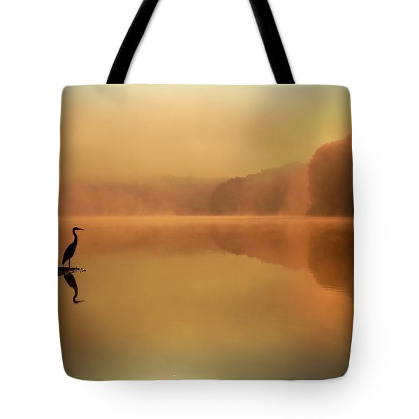 Beside Still Waters Tote Bag by Rob Blair