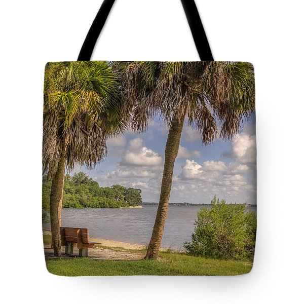 Tote Bag featuring the photograph Beside The Shore by Jane Luxton