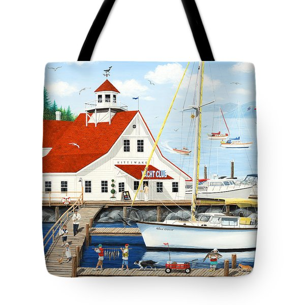 Best Day Ever Tote Bag by Wilfrido Limvalencia