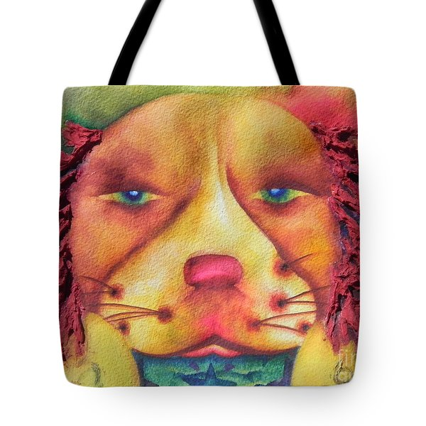 Best Dog In Show With Dog A Tude Two Tote Bag by Chrisann Ellis