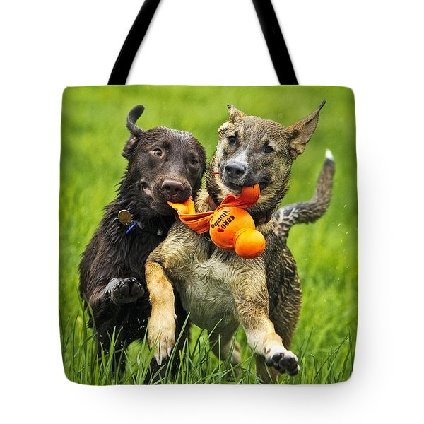 Best Friends 2011 Tote Bag by Joan Davis