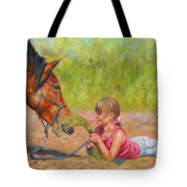 Best Friends Tote Bag by David Stribbling