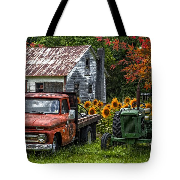 Best Friends Tote Bag by Debra and Dave Vanderlaan