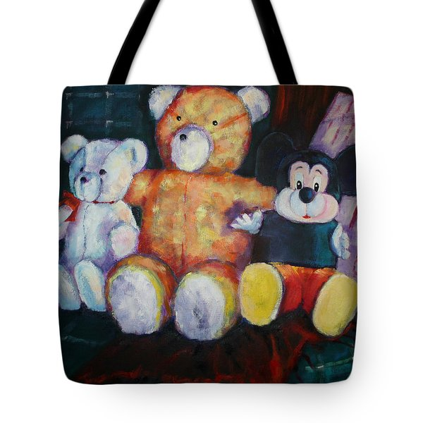 Best Friends Forever Toys Tote Bag