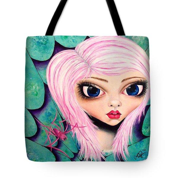 Best Friends Tote Bag by Oddball Art Co by Lizzy Love