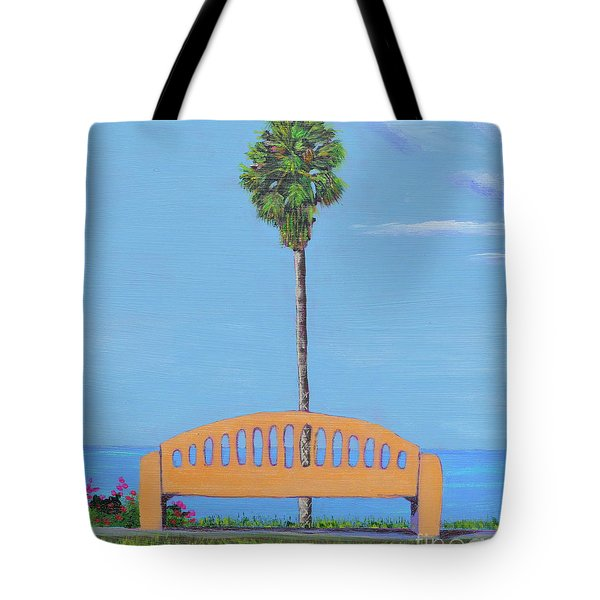Best Seat In San Clemente Tote Bag