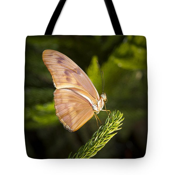 Best Side Of The Butterfly Tote Bag by Jean Noren