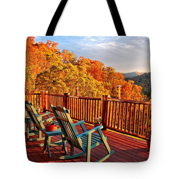 Best View In Town  Tote Bag by Lynn Bauer