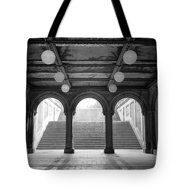 Bethesda Passage Central Park Tote Bag