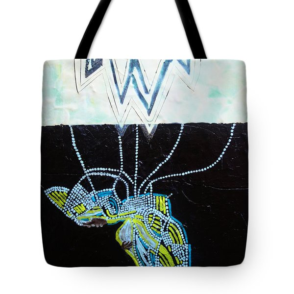 Bethlehem And Mary Tote Bag by Gloria Ssali