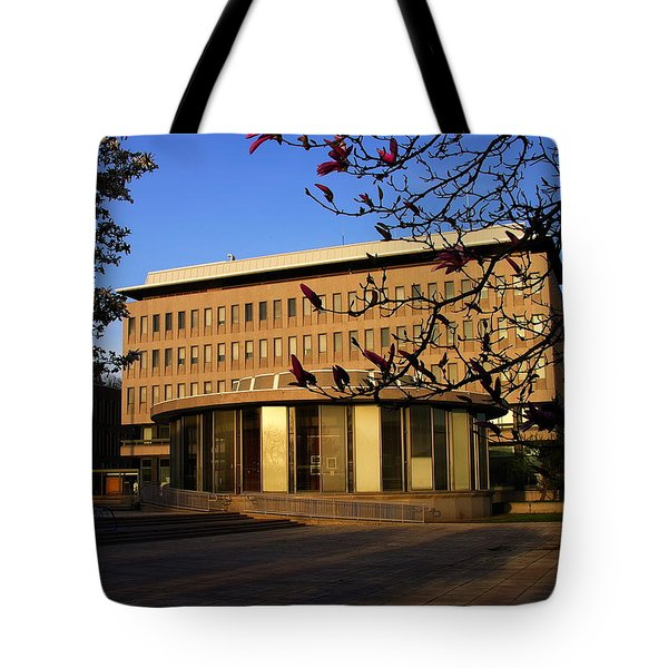 Bethlehem City Rotunda And City Hall Tote Bag by Jacqueline M Lewis