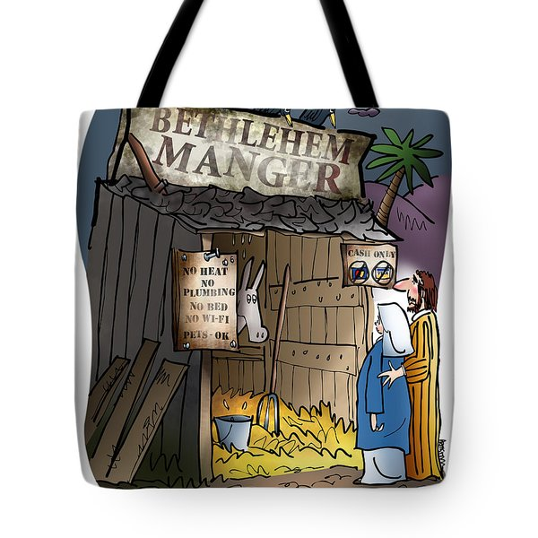 Bethlehem Manger Tote Bag