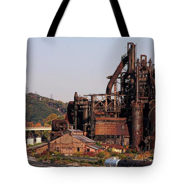 Bethlehem Steel # 8 Tote Bag