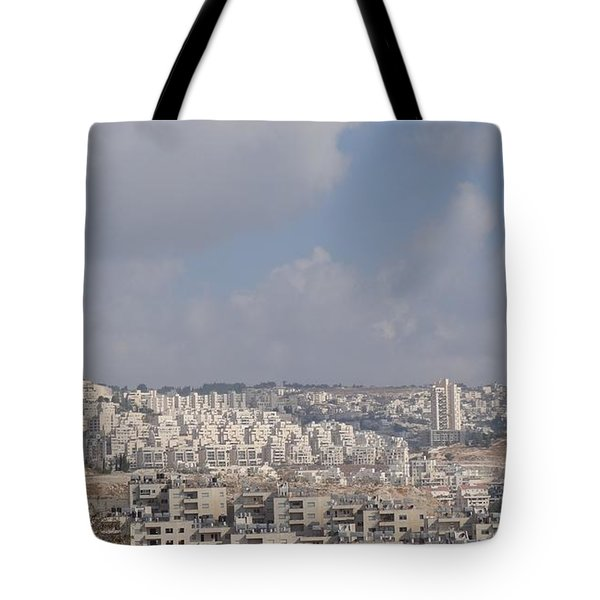 Bethlehem View From The Shepherds Fields Tote Bag