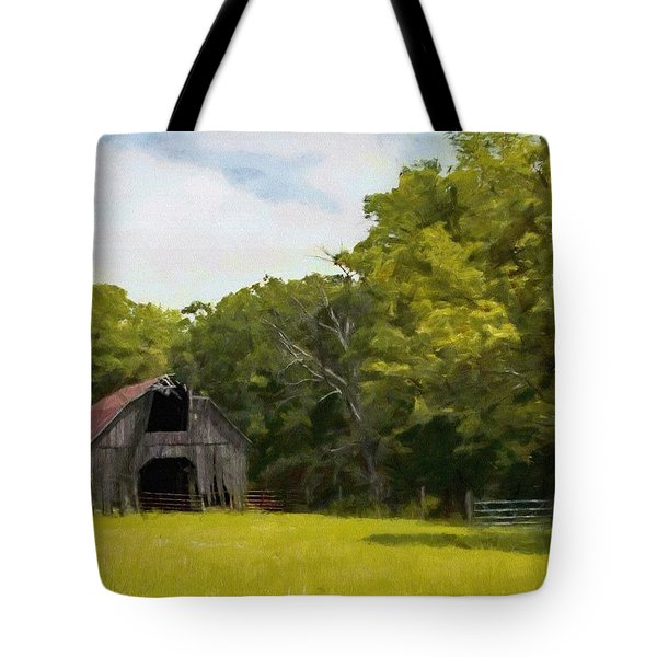 Tote Bag featuring the painting Better Days by Jeff Kolker